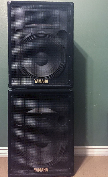Yamaha Passive Speakers : yamaha s15e passive speaker set of two 2 reverb ~ Hamham.info Haus und Dekorationen