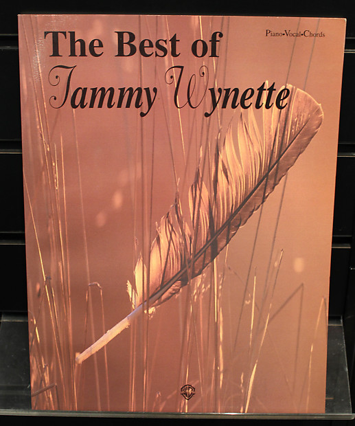 The Best Of Tammy Wynette Pianovocalchords Songbook Reverb