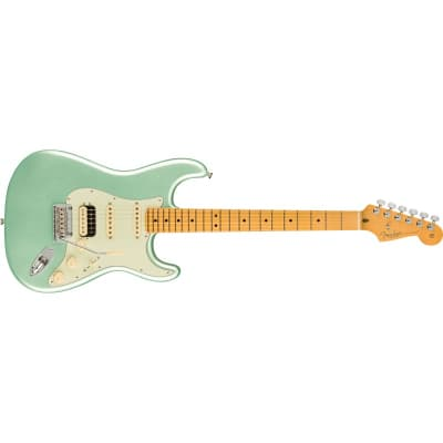 Fender American Professional II Stratocaster HSS, Maple Fingerboard, Mystic Surf Green for sale