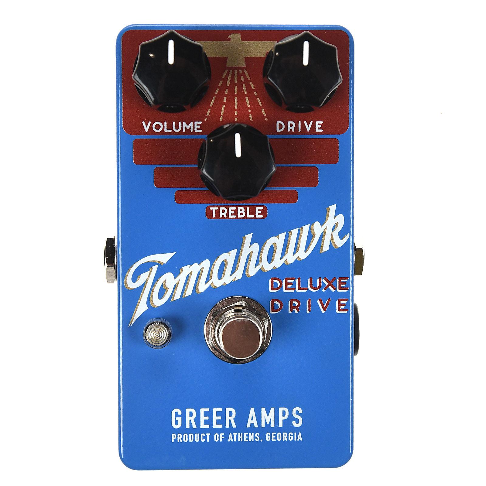 Greer Amps Tomahawk Deluxe Drive