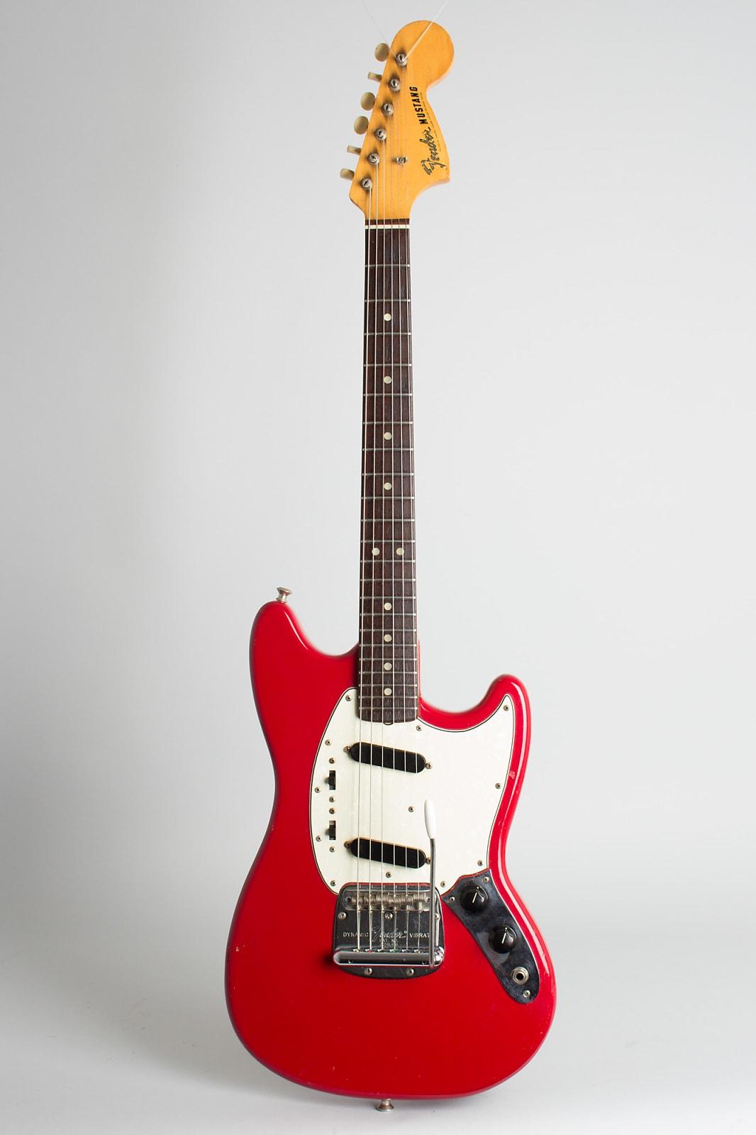 Fender  Mustang Solid Body Electric Guitar (1968), ser. #224967, original grey hard shell case.