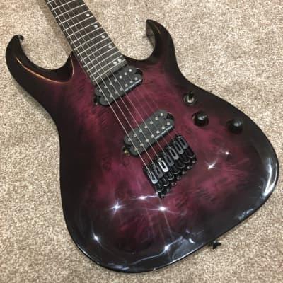 Harley Benton FanFret-7 Progressive - Purple for sale