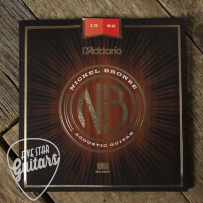 D'Addario Nickel Bronze 13-56