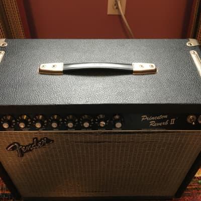 Fender Vintage Princeton Reverb II (Rivera era) 1983 - 1984 Black for sale