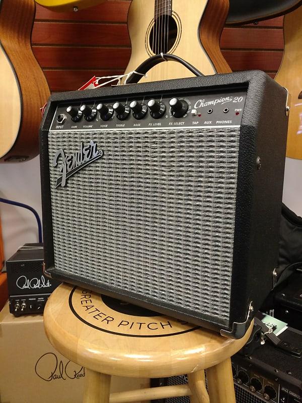 fender champion 20 electric guitar amplifier reverb. Black Bedroom Furniture Sets. Home Design Ideas