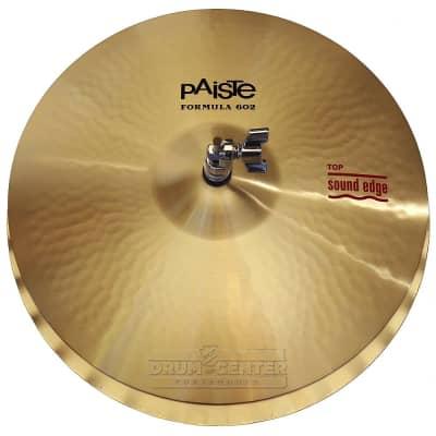 "Paiste Formula 602 Sound Edge Hi Hat Cymbals 15"" - Custom Order!"
