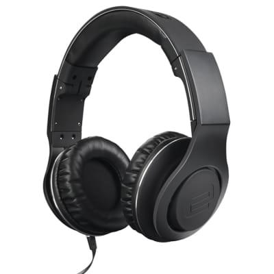 Reloop RHP-30 Pro Closed Lightweight DJ Headphones BLACK w/ Detachable Cables