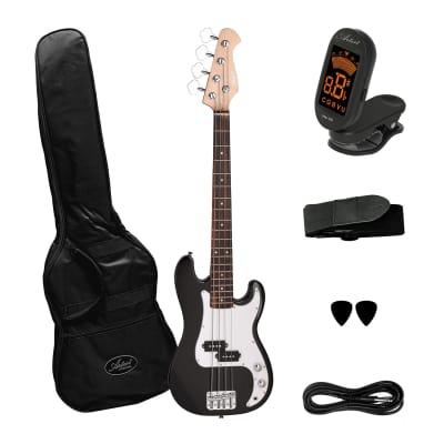 Artist MiniP 3/4 Size Electric Bass Guitar + Accessories for sale