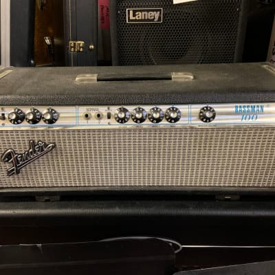 Fender Vintage 1973 Bassman 100 Tube 100 Watt Bass Or Guitar Amplifier - Classic Tone!