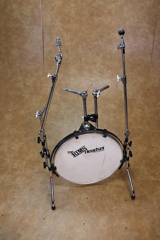 rims headset drum set frame w 20 bass drum and arms reverb. Black Bedroom Furniture Sets. Home Design Ideas