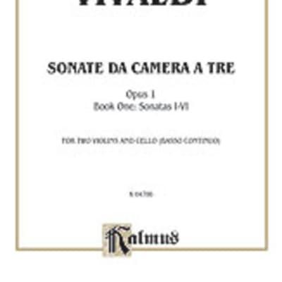 Sonata Da Camera A Tre Op 1 Bk 1 2 Vln Vc
