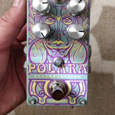 DigiTech Polara Stereo Reverb Modulated Shimmer Spring Modes with Tails Switch