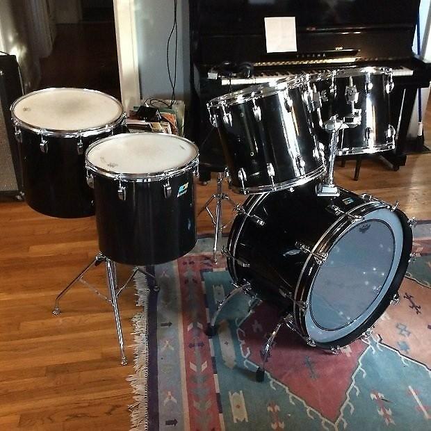 Ludwig Vista Lite Drums : giant ludwig vistalite 5 piece drum set 1976 smoke black reverb ~ Hamham.info Haus und Dekorationen