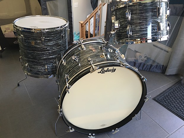 Ludwig 1966 Super Classic Oyster Blue Pearl Reverb