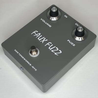 Faux Fuzz NKT Germanium Pedal - Vintage Newmarket Transistors - Fuzz Face - Dark Gray #275-07 for sale