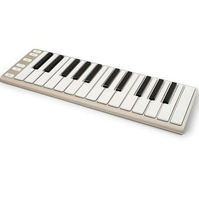 CME Xkey 25-Key Mobile USB Keyboard MIDI Controller 2010s Champagne - B-Stock
