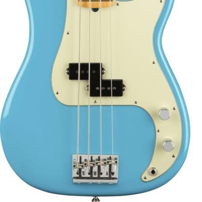 Fender American Professional II Precision Bass MP Miami Blue w/case