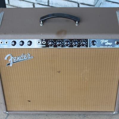 Fender Pro Amp 1962 Brown Tolex