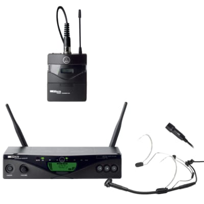AKG WMS470 Presenter Set Band8 50mW - Professional Multichannel Wireless Mic System for EU/US/UK