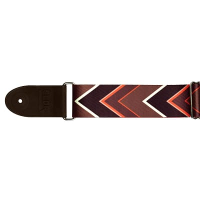 NEW SLDR Guitar Strap Nomad 2in Poly, Bn/Bk/Or