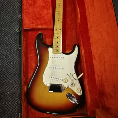 Fender Stratocaster  1971 Sunburst - John Birch Maple Cap for sale