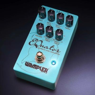 Wampler EQuator Advanced Audio Equalizer EQ Pedal for Guitar -100% Clean & Perfect!-