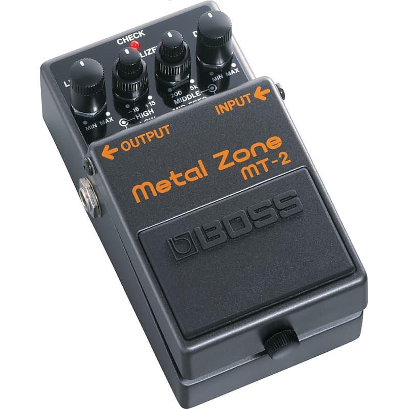 boss mt 2 metal zone guitar distortion pedal munro music reverb. Black Bedroom Furniture Sets. Home Design Ideas