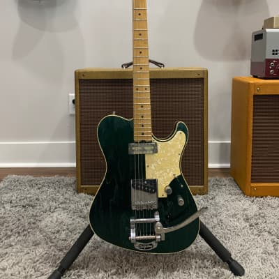 2018 Asher T Deluxe Studio Series (w/ Bill Asher upgrades) - Satin Metallic Derby Green for sale