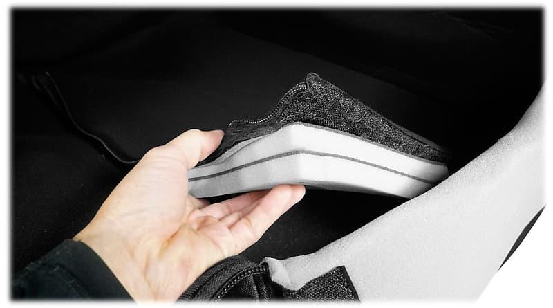 "Rockville SB15 Rolling Travel Bag For Most 15/"" DJ PA Speakers w//Handle+Wheels"