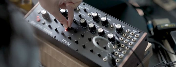 "Moog ""Drummer From Another Mother"" Percussive Synth Heading to Full Production"