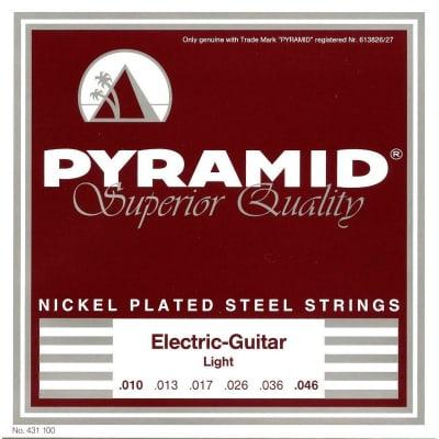 Pyramid Electric Nickel Plated Steel Strings 10-46