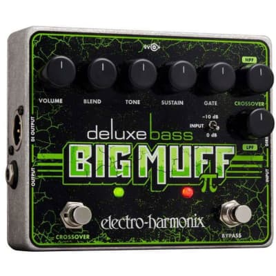Electro-Harmonix Deluxe Bass Big Muff Pi Fuzz Pedal (N45)