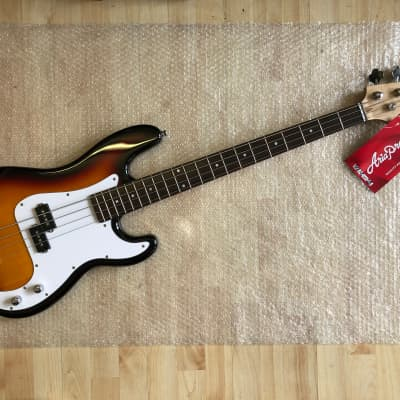 Aria Pro ii STB-PB 2020 Sunburst 4 String Precision Electric Bass Guitar for sale