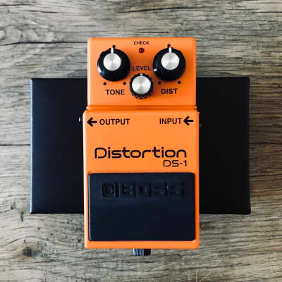 Boss DS-1 Distortion (Silver Label) with Box & user Manual