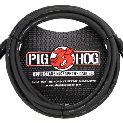 Pig Hog PHM10 High Performance 8mm XLR Microphone Cable, 10 feet