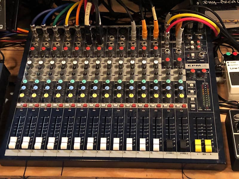 Outstanding Soundcraft Epm12 Mixing Board Reverb Wiring Cloud Hisonuggs Outletorg