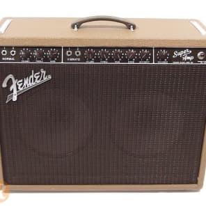 """Fender Super 6G4 Brownface 40-Watt 2x10"""" Guitar Combo 1960 - 1961"""