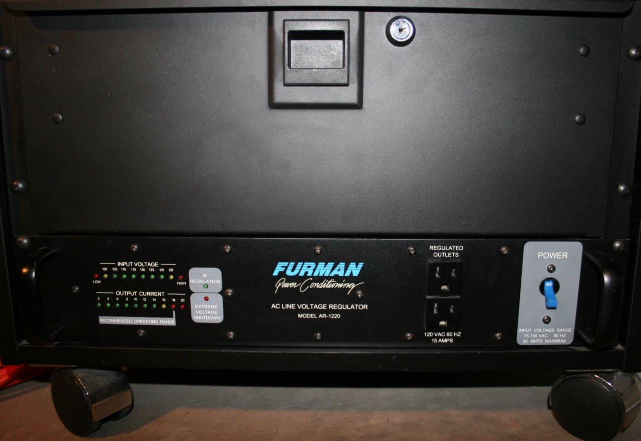 Furman AR-1220 AC Voltage Line Regulator, Excellent, | Reverb