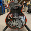 2001 Gibson Limited Edition Dale Earnhardt Les Paul - Sam Bass Art with Hardshell Case, and COA