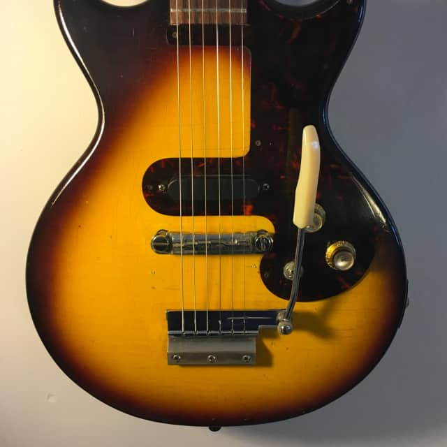Epiphone  Olympic  1962 Sunburst - Original Case - FREE Shipping - CHECK IT OUT!!! image