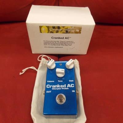 Wampler Original Cranked AC Overdrive W/Box