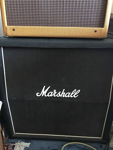 Marshall 4x10 speaker cabinet 1965A 1980s | Reverb