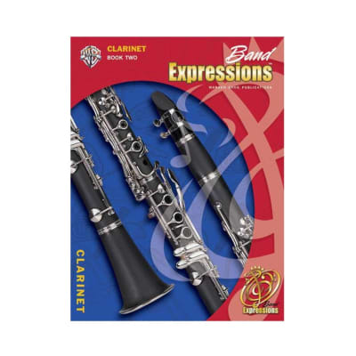 ALFRED 00EMCB2004CD Band Expressions , Book Two: Student Edition [Clarinet]