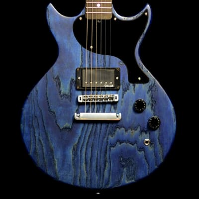 Gordon Smith GS1 Swamp Ash Electric Guitar in Blue Stain for sale
