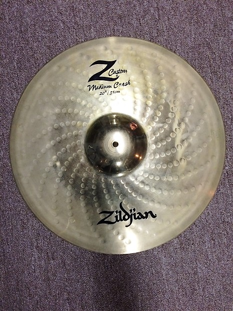 60ad01857fb8 Zildjian Z Custom Medium Crash 20