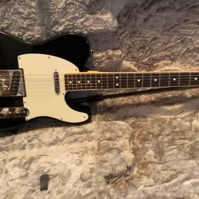 Fender Channel bound telecaster guitar 2017 Black for sale