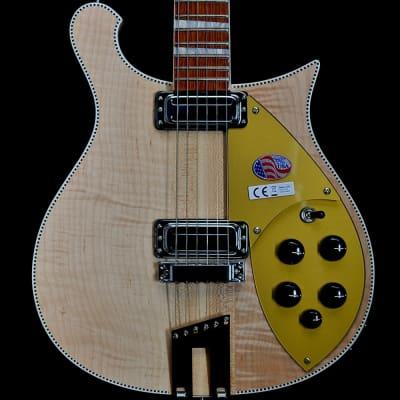 Rickenbacker 660 6-String Electric Guitar in Mapleglo, 2017 Model for sale