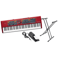 Nord Stage 2 EX HP76 76-Key Portable Stage Piano Bundle