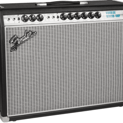 Fender '68 Vibrolux Reverb 120V Black/Silver