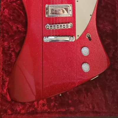 Mike Lull Firebird Rising 2012 Sparkle Red for sale